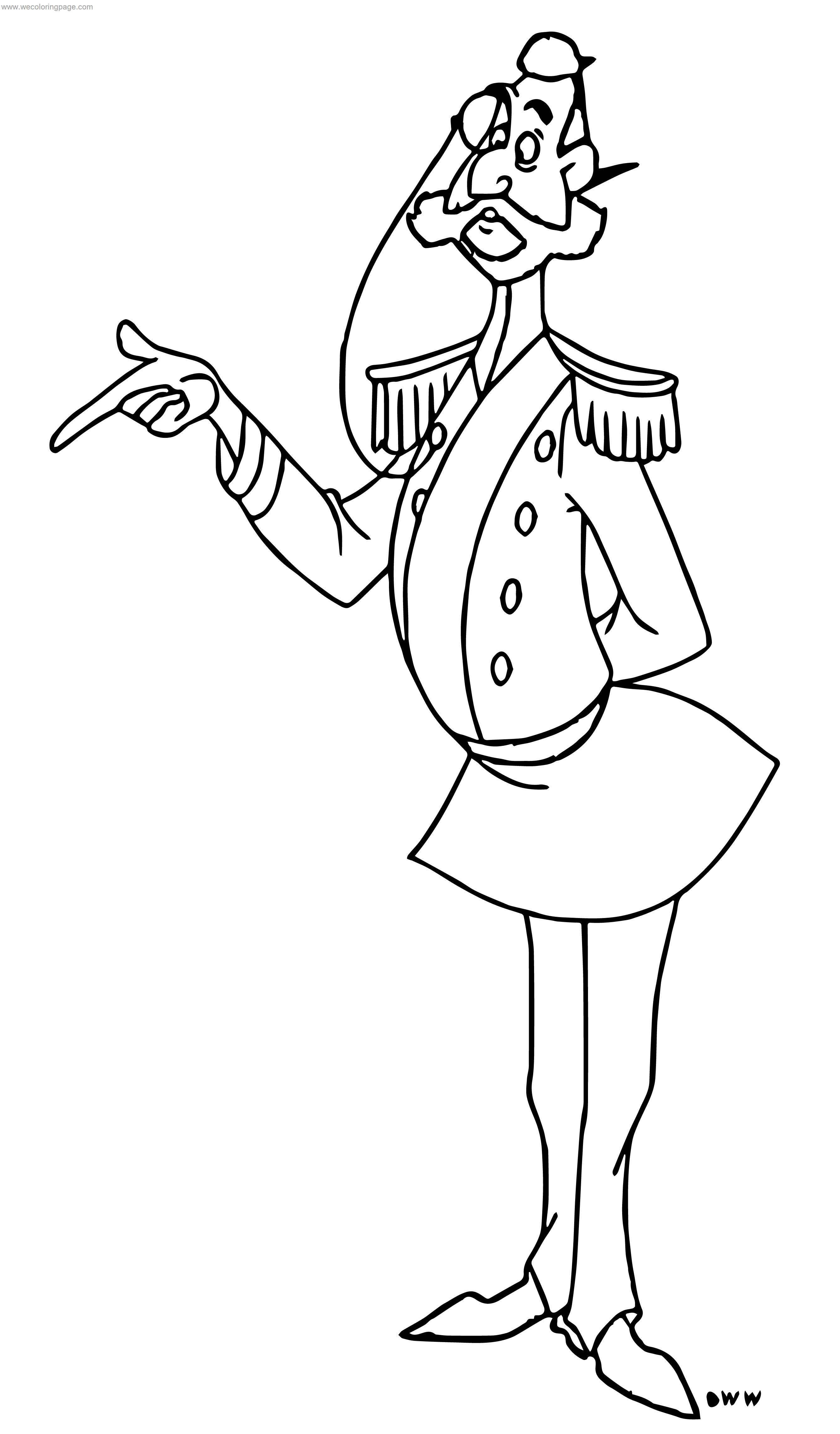 Prince Charming What Coloring Page