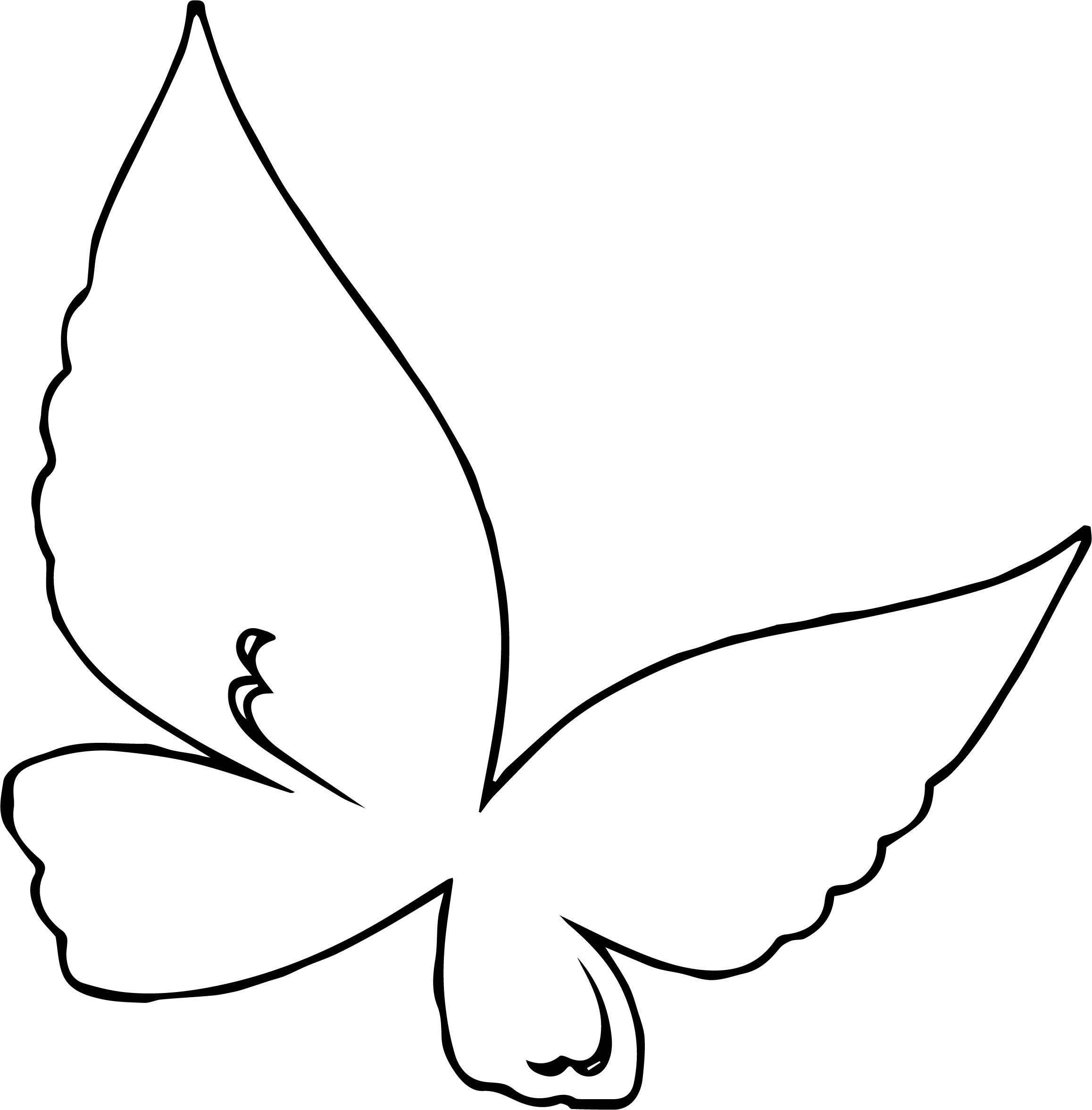 Purple Butterfly Md Coloring Page