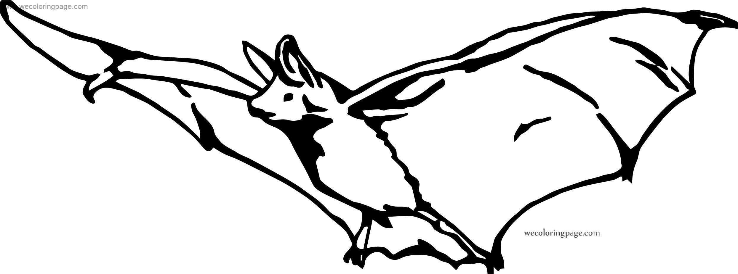 Same Bat Coloring Page