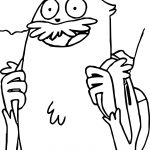 School Time Creature Supernoobs Coloring Page wecoloringpage.com