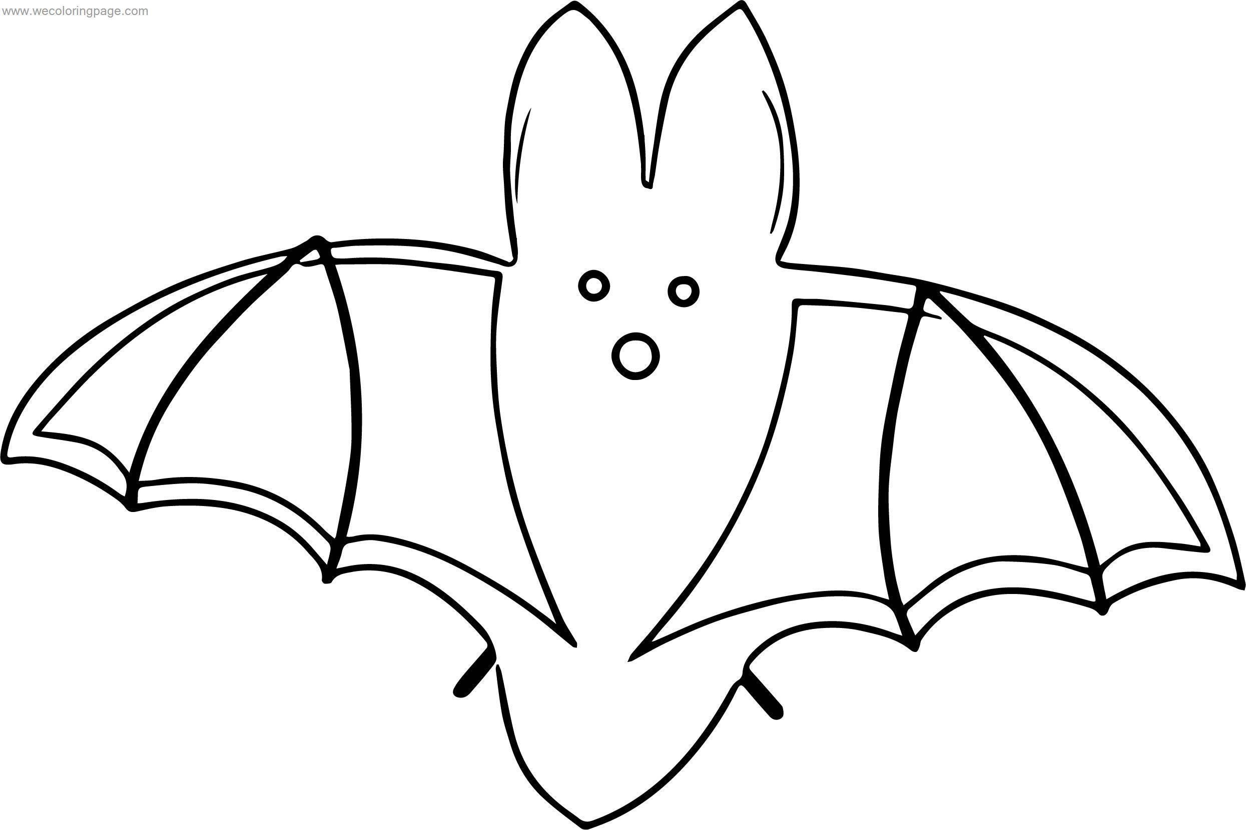 Set Bat Coloring Page