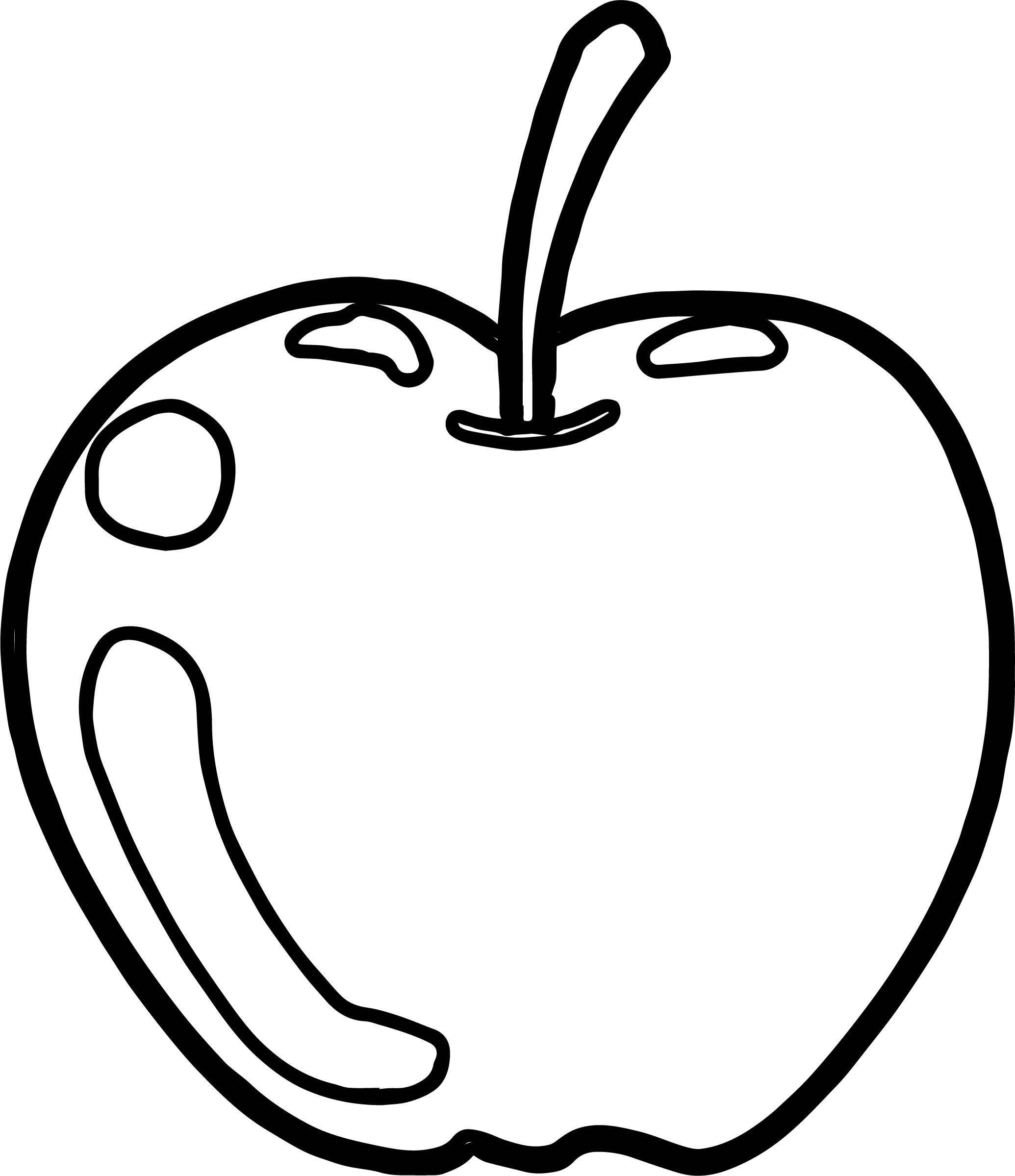 Silly Scents Sour Apple Coloring Page