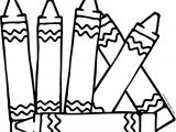 Style Crayon Coloring Page