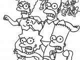 The Simpsons Mouse Attack Coloring Page