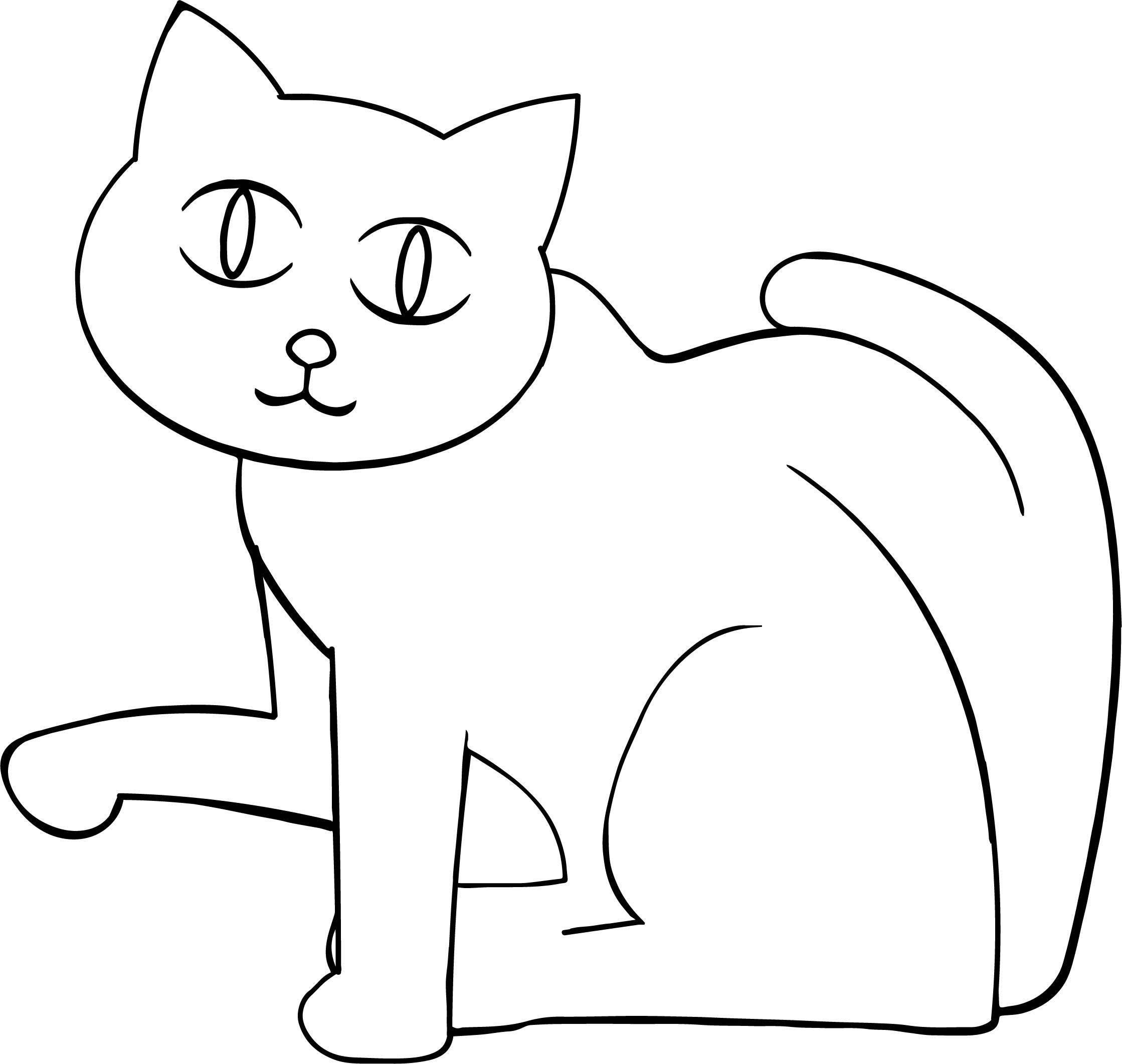 Their Cat Coloring Page