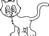 Them Cat Coloring Page