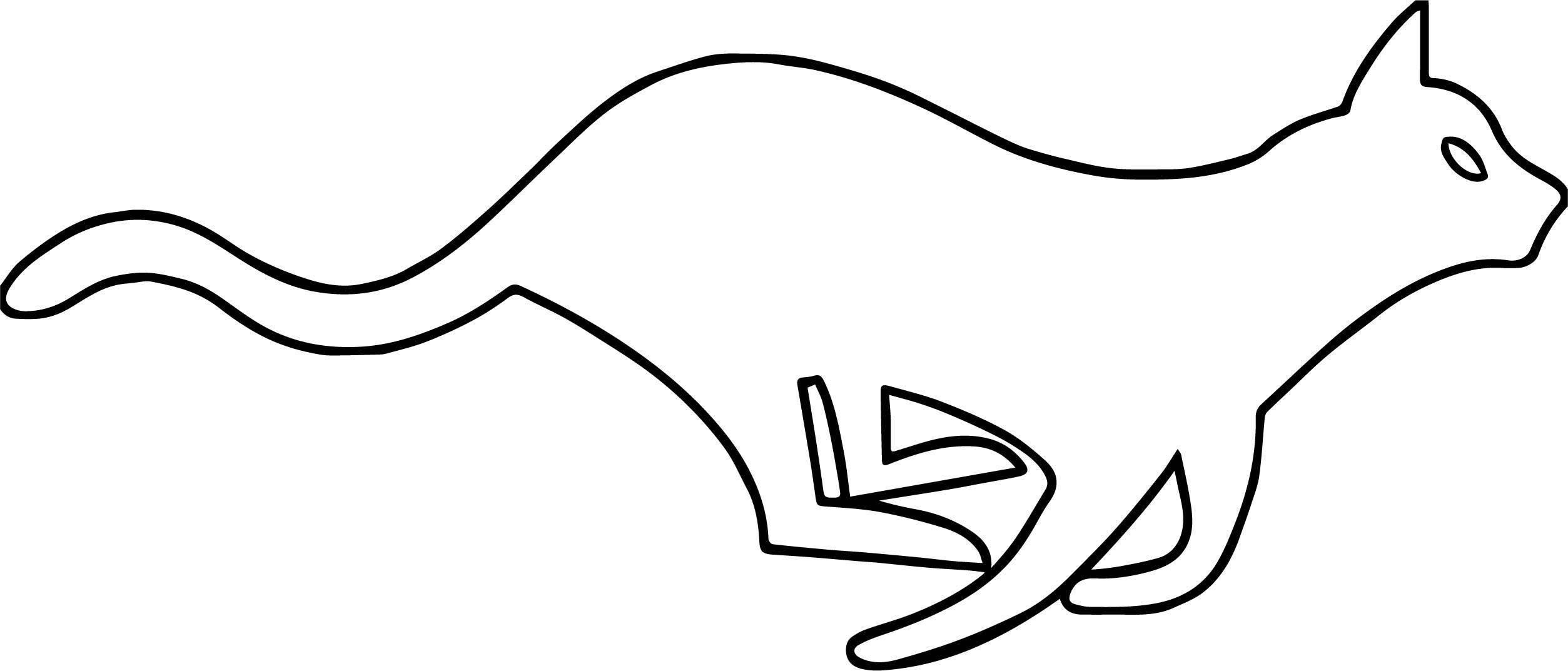 Too Cat Coloring Page