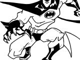 Up Batman Coloring Page