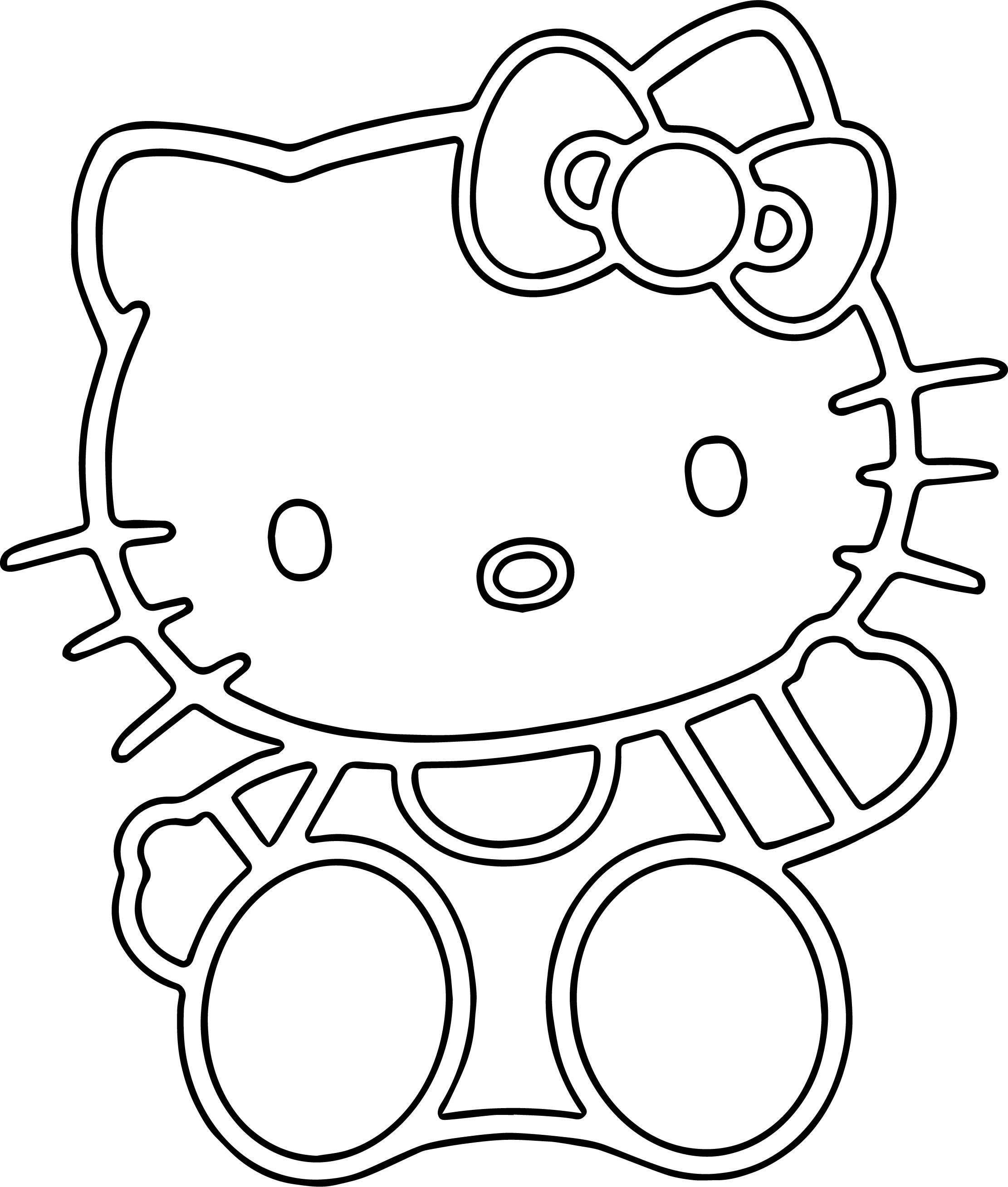 Us Cat Coloring Page
