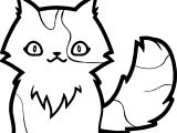 Water Cat Coloring Page