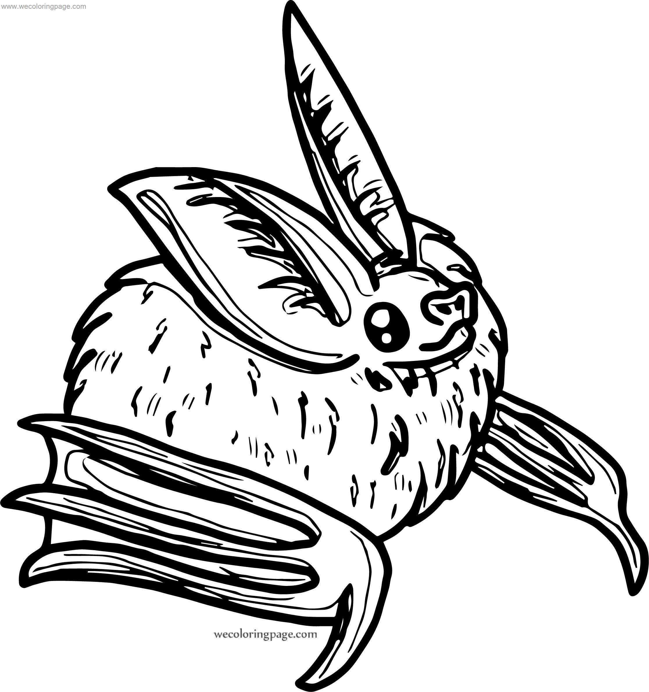 We Bat Coloring Page