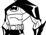 Were Batman Coloring Page