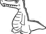 Were Crocodile Alligator Coloring Page