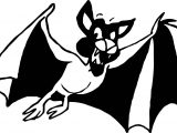 When Bat Coloring Page