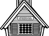 Wide School Coloring Page