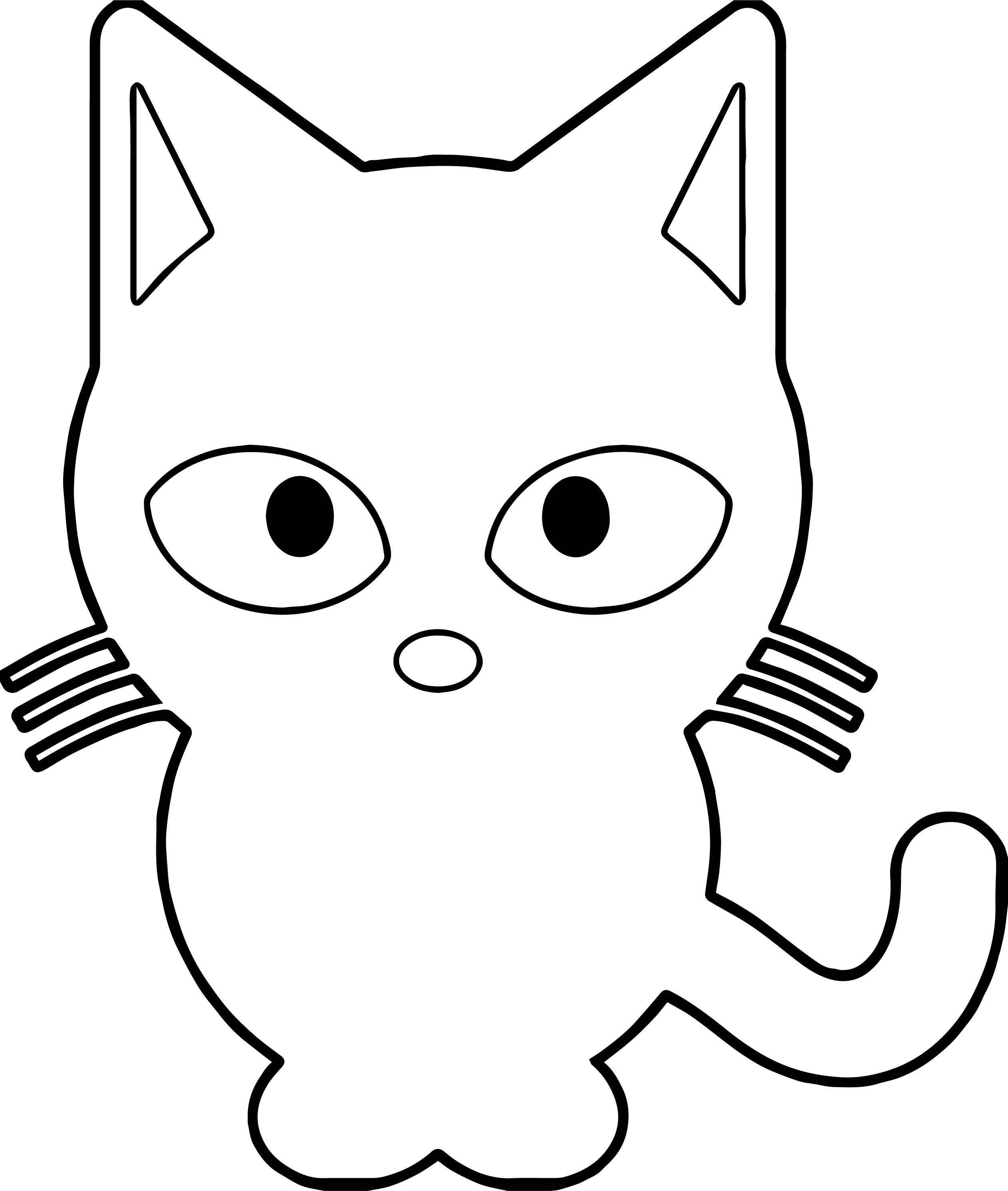 Will Cat Coloring Page