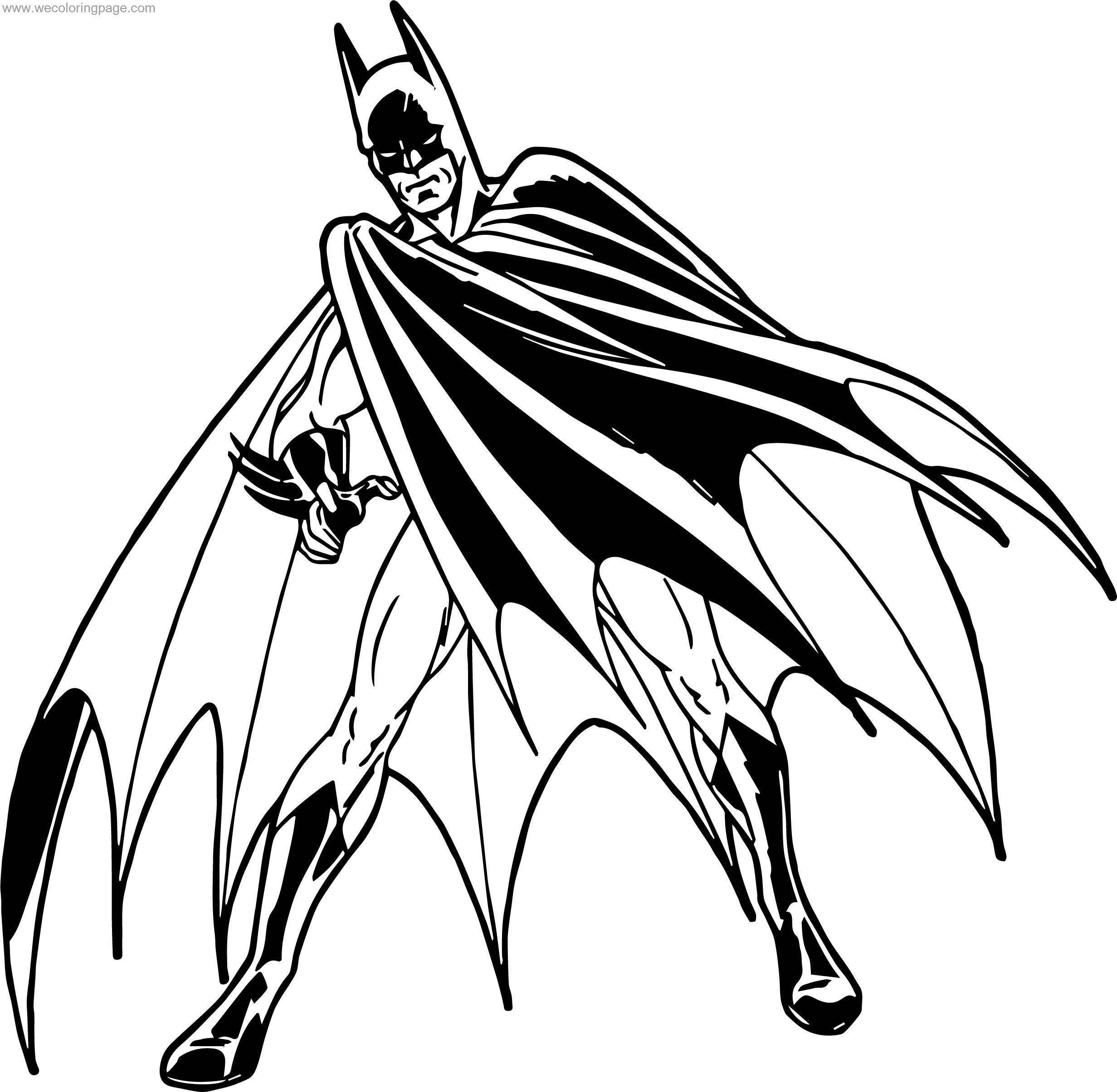 Your Batman Coloring Page