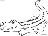 Your Crocodile Alligator Coloring Page