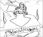 Aang Katara Kataang Avatar Aang Coloring Page 2141451 2141451