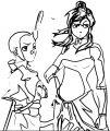 Aang Korra Avatar Aang Coloring Page