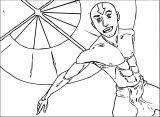 Aang Smeemee Dcp Avatar Aang Coloring Page