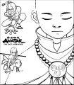 Aang The Last Airbender Becksgirl Dyjzf Avatar Aang Coloring Page