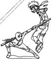 Aang Vs Naruto Place Your Bets Dimezanime Avatar Aang Coloring Page