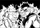 Aang Vs Zuko Virgo Ddap Avatar Aang Coloring Page