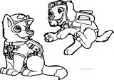 Ace And Lani In Uniform Coloring Page