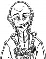 Alternative Adult Aang Septendecim Fool Dbcd Avatar Aang Coloring Page