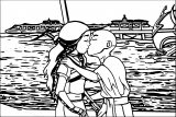 Angkat Avatar Aang Coloring Page