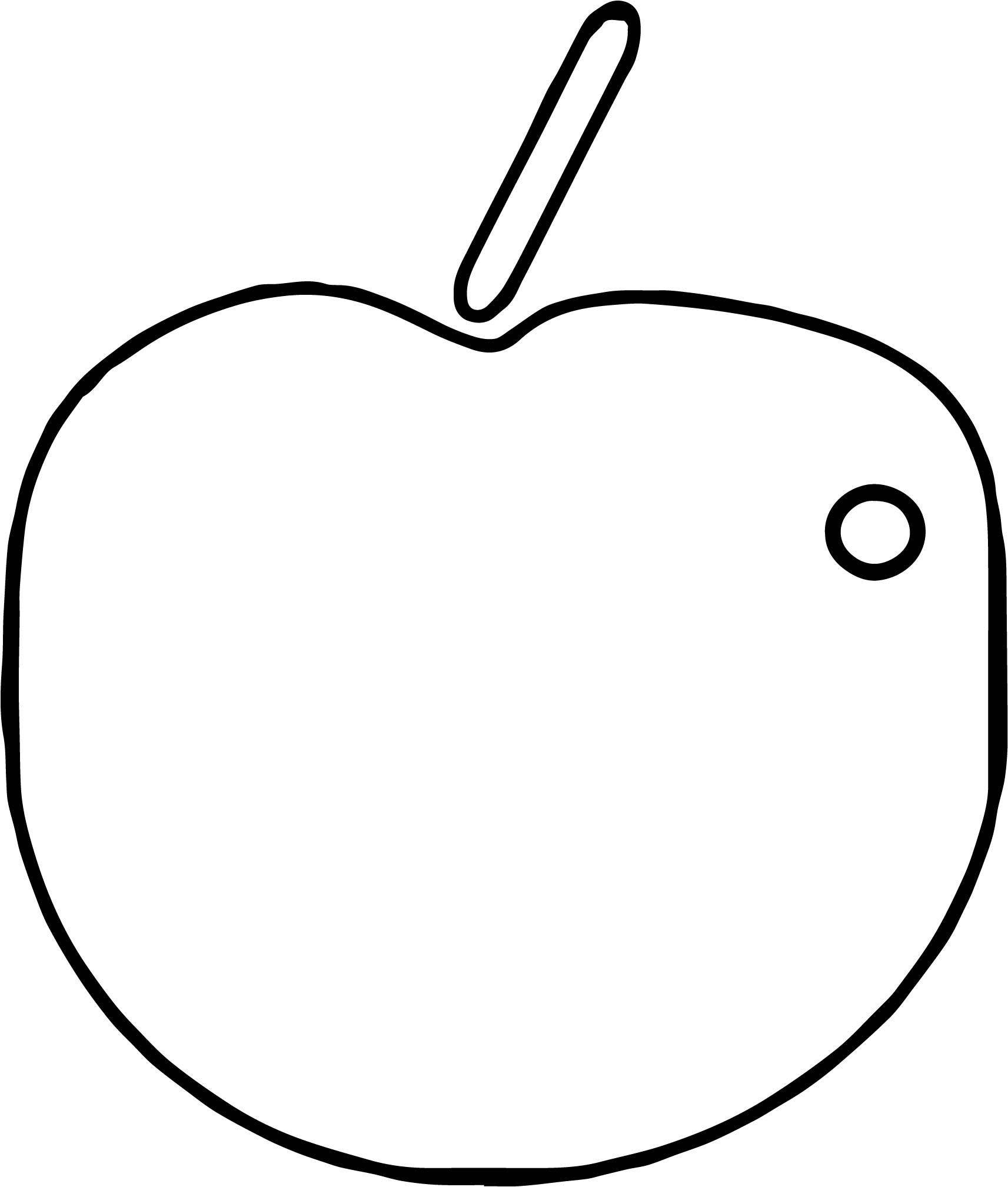 Apple Coloring Page WeColoringPage 108