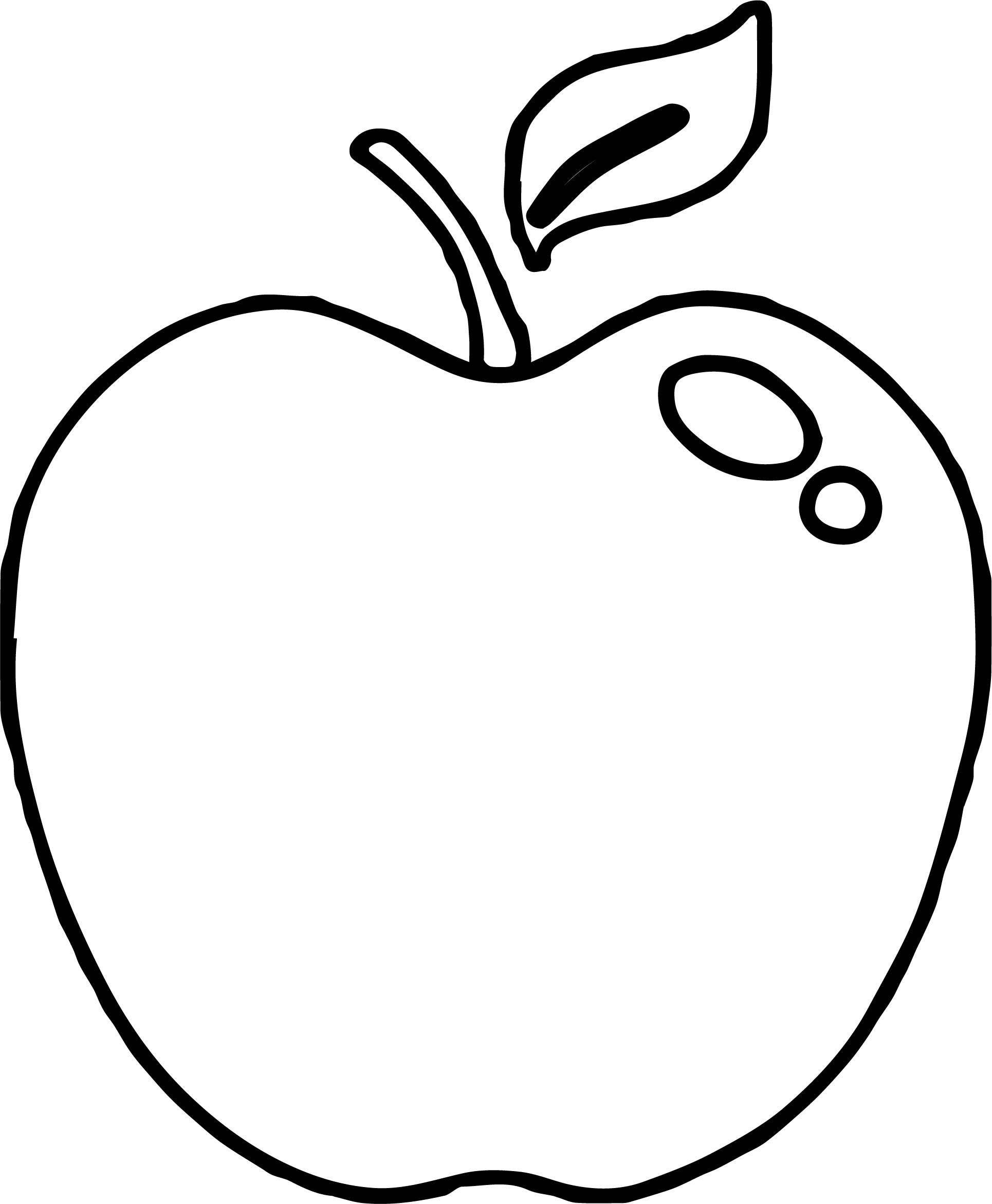 Apple Coloring Page WeColoringPage 112