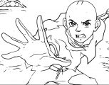 Avatar Aang Coloring Page 6
