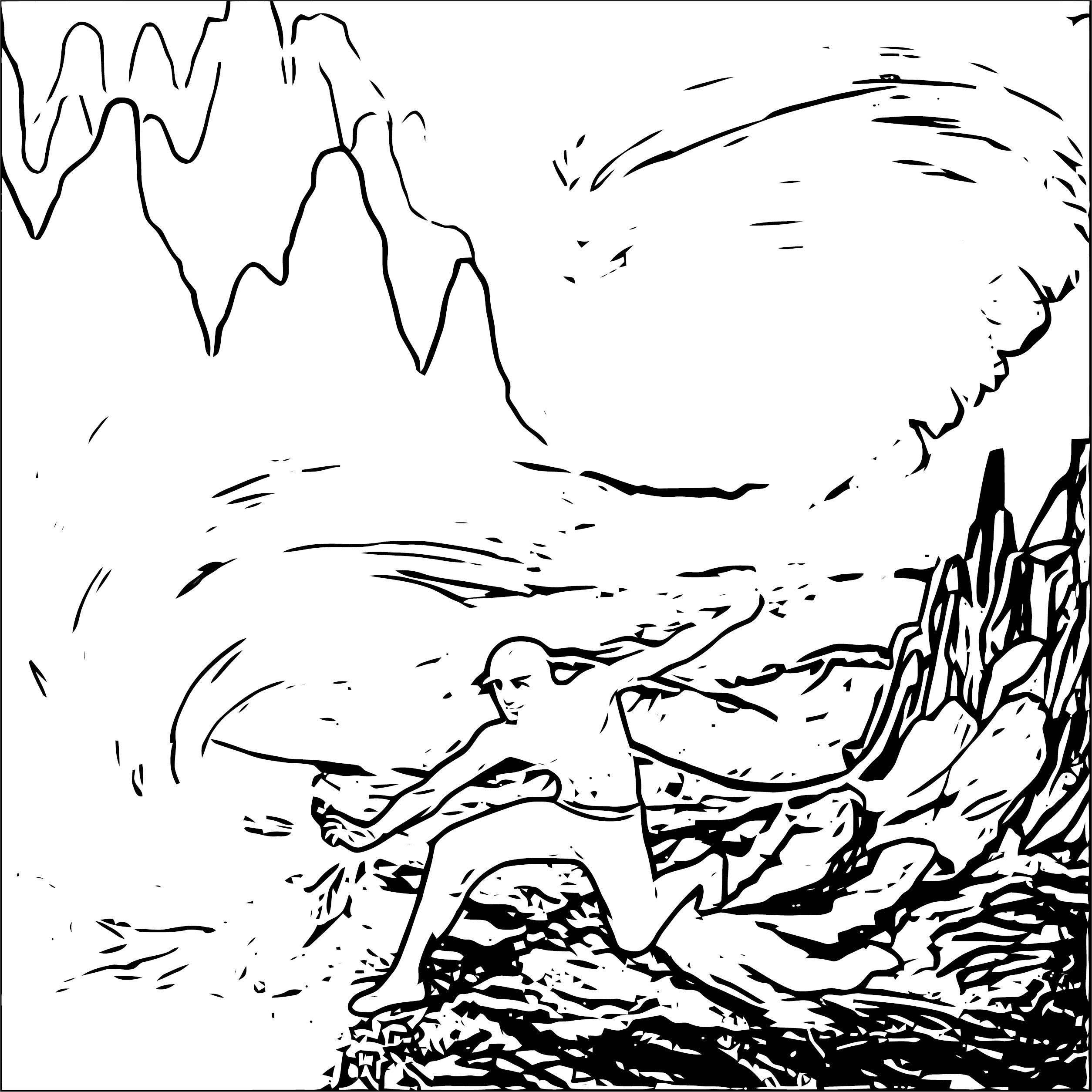 Avatar Aang Palnk Avatar Aang Coloring Page