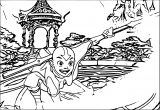 Avatar The Last Airbender Aang Avatar Aang Coloring Page