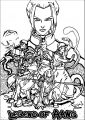 Avatar The Last Airbender Legend Of Aang Avatar Aang Coloring Page