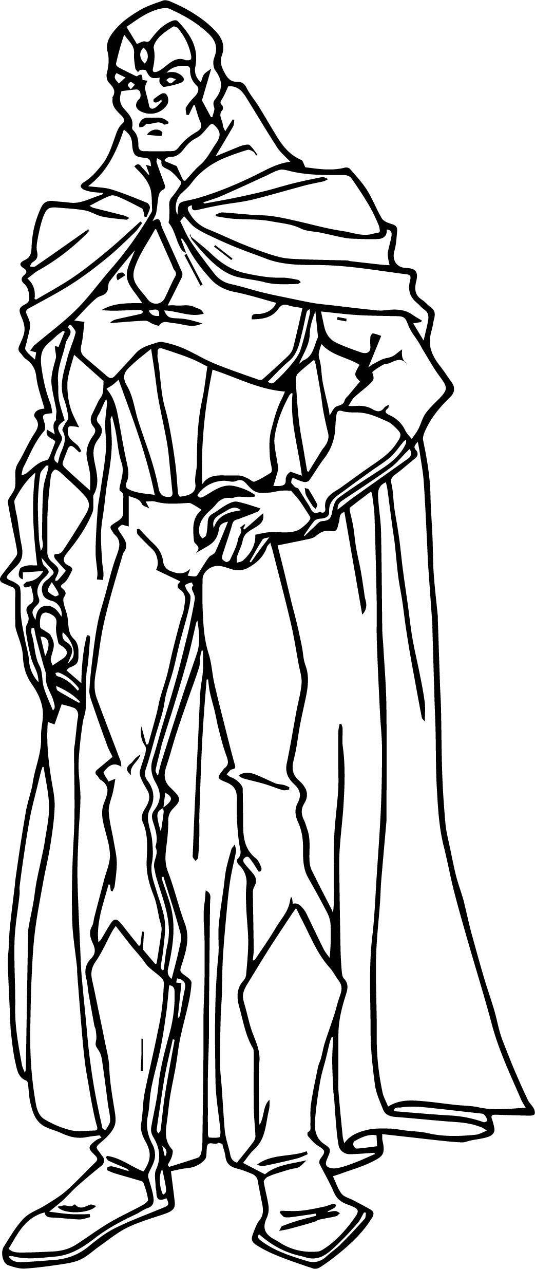 Avengers Coloring Page 03