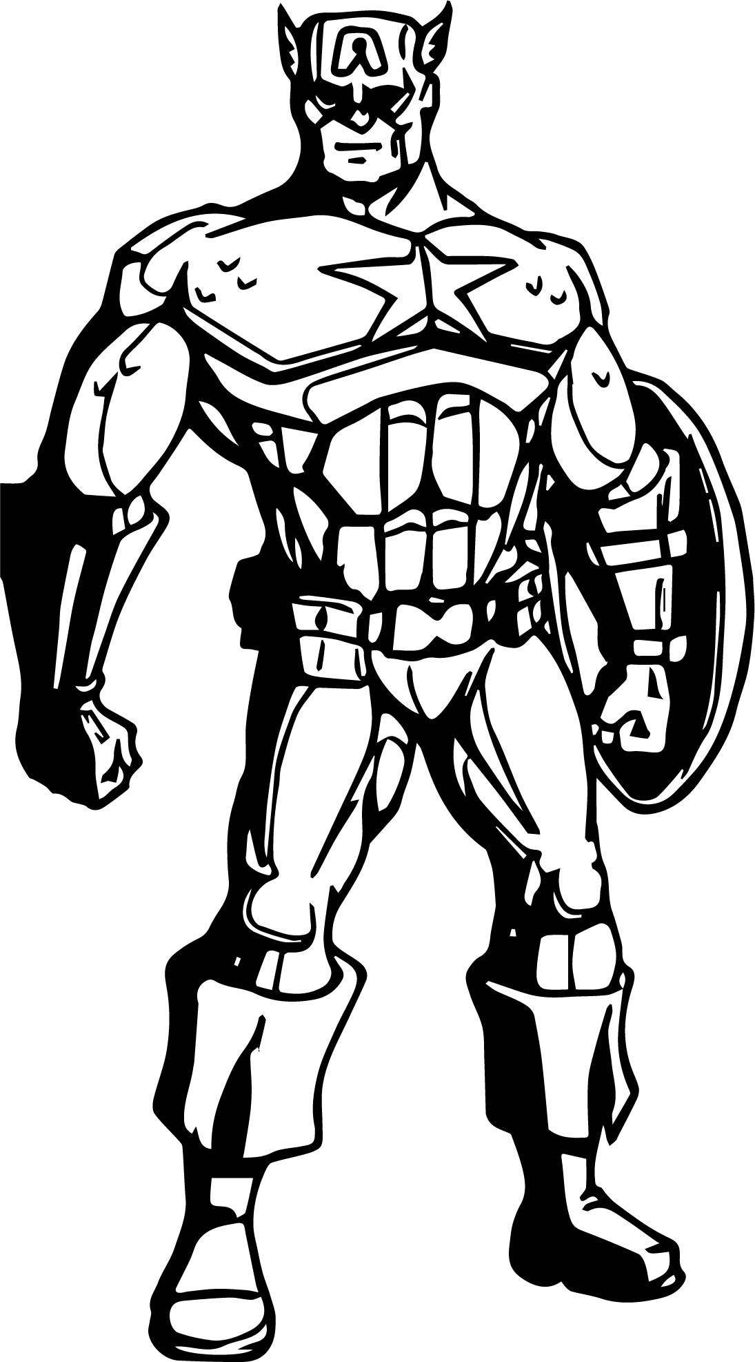 Avengers Coloring Page 14