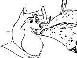 B2 Jenna Wolf Coloring Page
