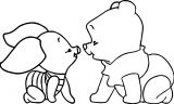 Baby Piglet Winnie The Pooh Coloring Page 16