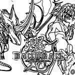Bakugan Battle Brawlers 5 Coloring Page