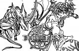 Bakugan Battle Brawlers 5 Coloring Page