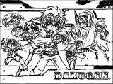 Bakugan Battle Brawlers Coloring Page 01