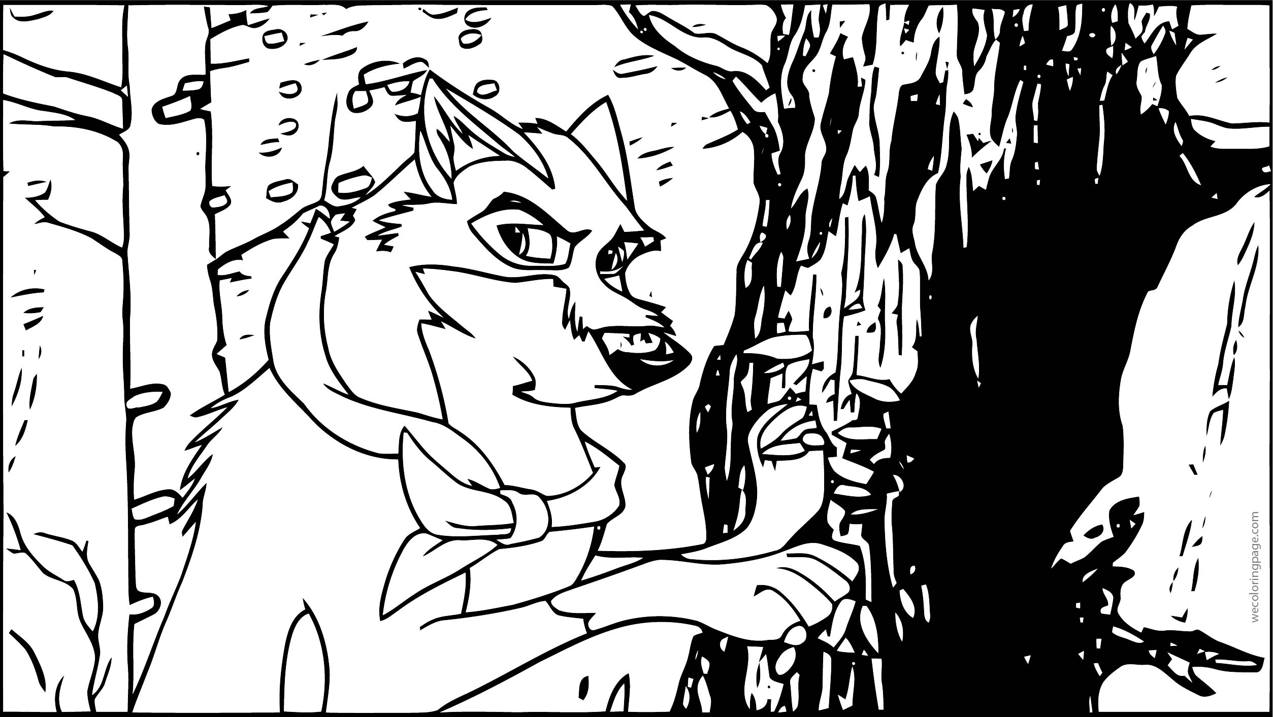 Balto Rules Team Balto Wolf Coloring Page
