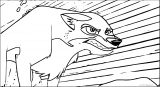 Balto Screenshots Balto Wolf Coloring Page