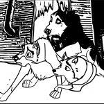 Balto Steele And Jenna Balto Wolf Coloring Page