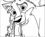 Balto's Endearing Grin Wolf Coloring Page