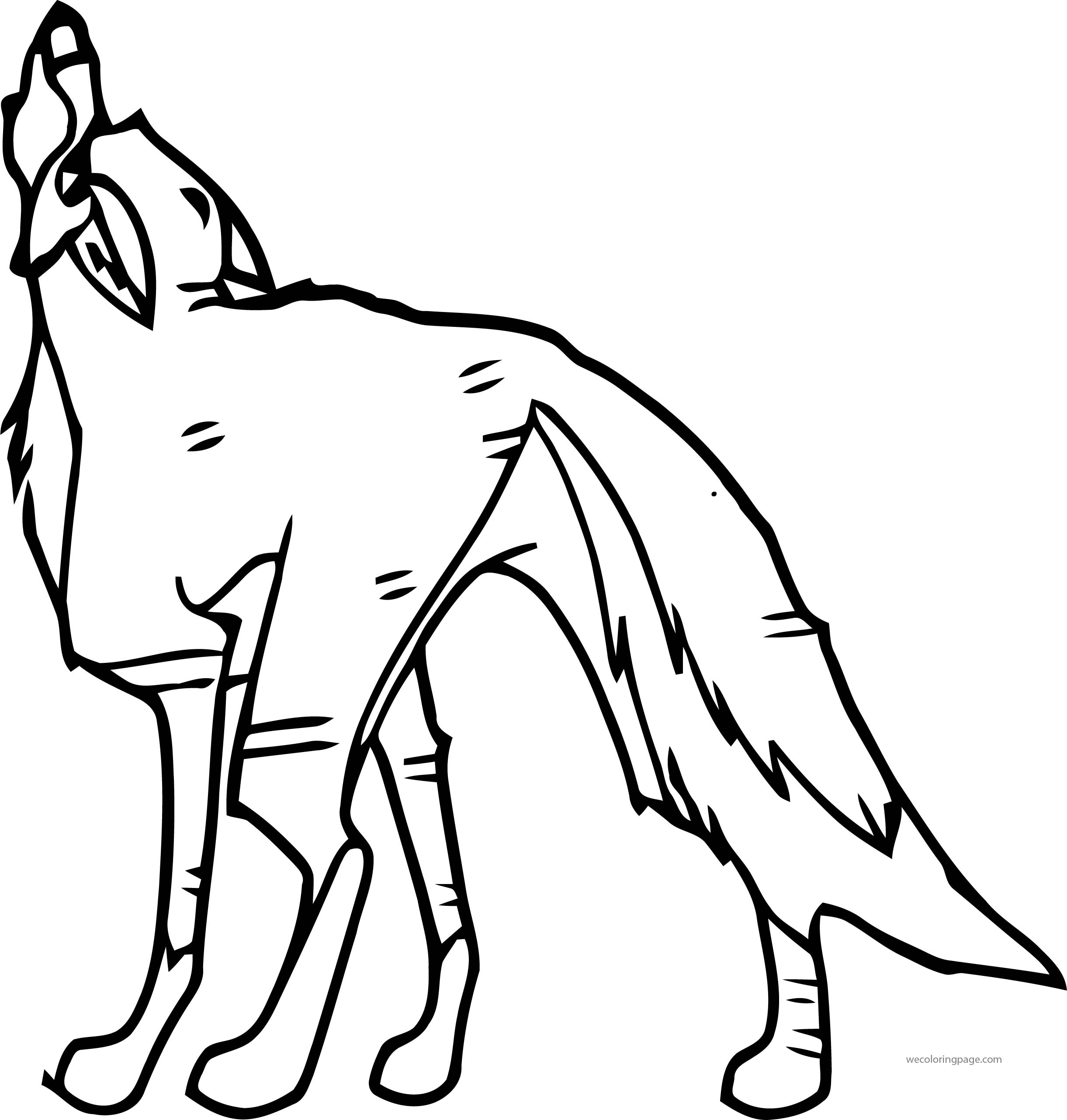 Balto\'s Heroic Wolf Howl Wolf Coloring Page | Wecoloringpage.com