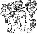 Bang Paw Patrol Ref Coloring Page